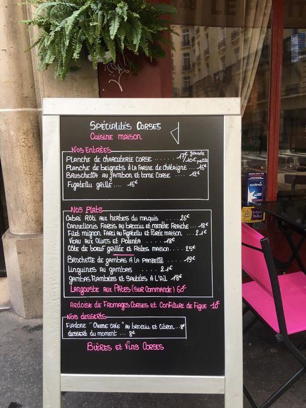 Carte Corse Restaurant.Restaurant Le Petit Bouchon Racines Corses